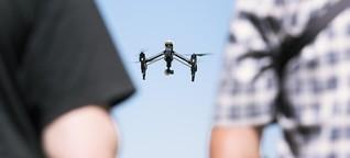 Geschäft in Frankfurt: Brummender Boom der Drohne