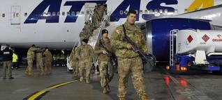 """Die Nato in Polen: """"Wir haben lange auf euch gewartet"""""""