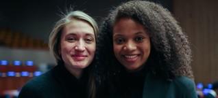Wie sich zwei junge Frauen bei der UN in New York für Frauenrechte einsetzen