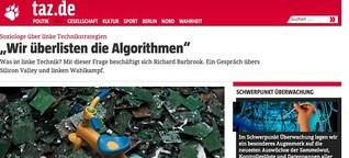 "Richard Barbrook über linke Technikstrategien: ""Wir überlisten die Algorithmen"""