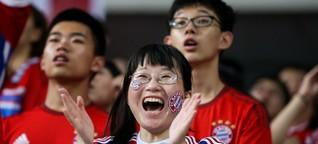 Einmal die Bayern spielen sehen