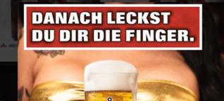 So kämpft eine Berlinerin mit einer Biermarke gegen sexistische Werbung