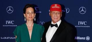 Niki Lauda: Dank Spenderniere der Ehefrau noch am Leben