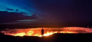 Turkmenistan: Am Tor zur Hölle in Zentralasien - WELT
