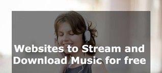 Download Music for free using these websites!