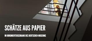 Im Dokumentenschrank des Deutschen Museums