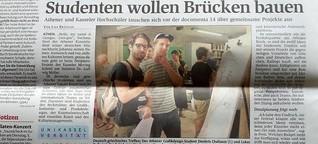 Documenta14: Studenten wollen Brücken bauen
