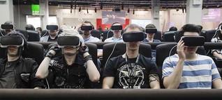 """Gamescom: """"Virtual Reality ist nur eine Zwischenlösung"""""""