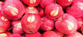 COP21-Äpfel: Mit Kunst das Klima retten?