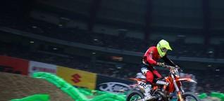 So erlebt ein Fahrer der Königsklasse den ADAC Supercross