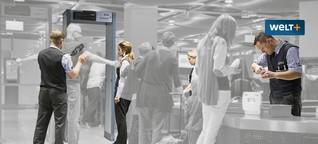WELT AM SONNTAG: Kontrolleure am Flughafen: Frustrierte Fummeltruppe