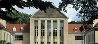 Historische Bühnenkonstruktion am Festspielhaus Hellerau - Adolphe-Appia-Bühne wird wieder aufgebaut