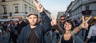 Junge Polen sorgen sich um ihr Land