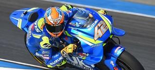 Starker Alex Rins macht Suzuki in Thailand glücklich