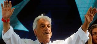 Präsidentschaftswahl in Chile: Ein tollpatschiger Milliardär vor dem Comeback - SPIEGEL ONLINE - Politik