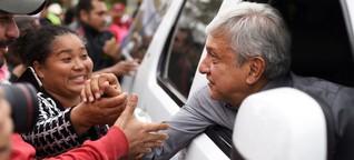 Mexiko vor der Wahl: Der Mann, der mit den Drogenfürsten Frieden schließen will - SPIEGEL ONLINE - Politik