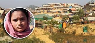 360°-Reportage: Mit Almasia (18) im grössten Flüchtlingscamp der Welt