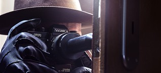 Wie mit Kameras spioniert wurde