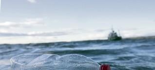 Plastik: Aus den Regalen in die Welt-Meere