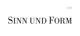 Heftarchiv - Jahrgänge :: Heft 2/2018 :: SINN UND FORM