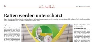 Ratten werden unterschätzt