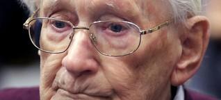 Haftstrafe für den 96-Jährigen Buchhalter von Auschwitz