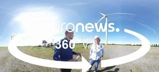 360° Videos - Menschen zur Bundestagswahl: Wohlstand durch Wind im hohen Norden
