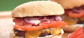 Dieser Burger ist unschlagbar ... lecker