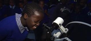 logo!: Reiseteleskop in Kenia