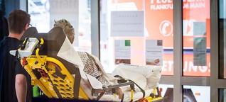 Bombenentschärfung: In diesen Minuten schließt das Bürgerhospital seine Pforten | Frankfurter Neue Presse