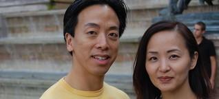 Brautpaare aus aller Welt streben an die Seine