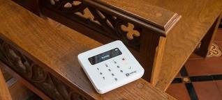 Kirche von England bietet bargeldlose Kollekte an