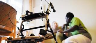 Standpunkt zur Pflege: Mehr Schein als Sein | hr-iNFO | Das Thema
