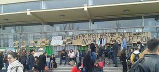 Studierenden-Streik in Frankreich: Gespalten gegen die Reform