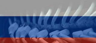Wie russische Behörden das Internet zensieren