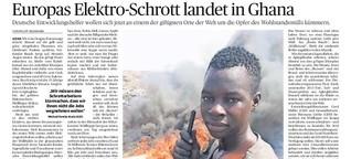 Europas Elektroschrott landet in Ghana