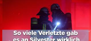 In den 20 größten deutschen Städten gab es zu Silvester nur 6 verletzte Einsatzkräfte von Feuerwehr und Rettungsdienst
