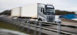 Lkw-Fahrer verhindern Suizid
