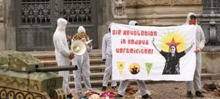 Leipziger Protestgruppe ruft zu Solidarität mit Kurdistan auf