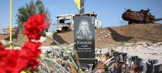 Das Sterben abseits der Schlagzeilen: Foto-Reportage aus dem vergessenen Krieg in der Ostukraine