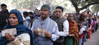Folgen der Demonetarisierung in Indien: Wenn der Schein trügt