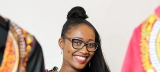 Afrikanische Stoffe für europäische Mode - Sankt Augustinerin entwirft neben dem Studium Mode