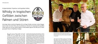 Frutigen/Interlaken: Tropenhaus und Rugenbräu Distillery