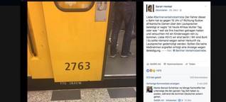 """Busfahrer singt """"Affenvolk"""", U-Bahn-Fahrer spricht von Afrikas Frauentag"""