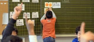 Lehrer verzweifeln an Flüchtlings-Willkommensklassen