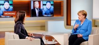 """Angela Merkel bei """"Anne Will"""": Donald Trump, Susanna und das Bamf"""