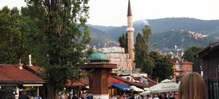 Junge Menschen in Sarajevo: Bleiben oder auswandern?