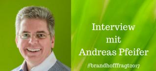 Interview mit Andreas Pfeifer #brandhofffragt2017