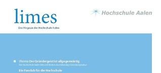 "Magazin der Hochschule Aalen ""Limes"""