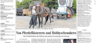 Pferdeflüsterer und Hobbyschrauber